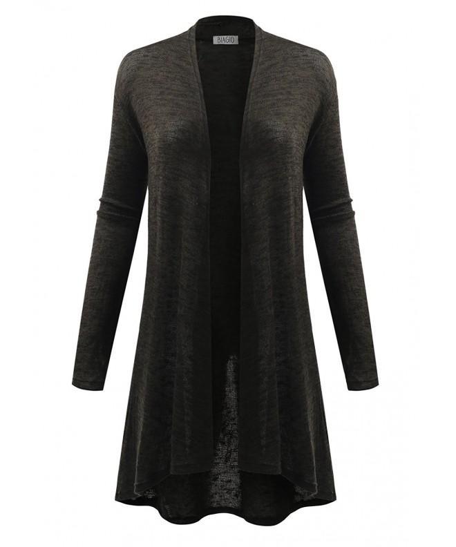 BIADANI Women Hacci Cardigan Sweaters