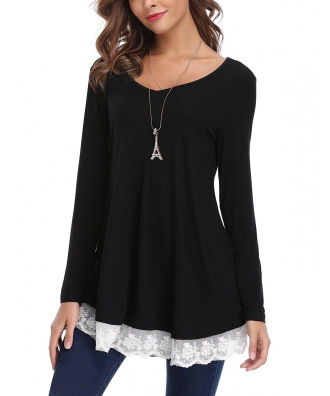 iClosam Womens V Neck Sleeve Blouse