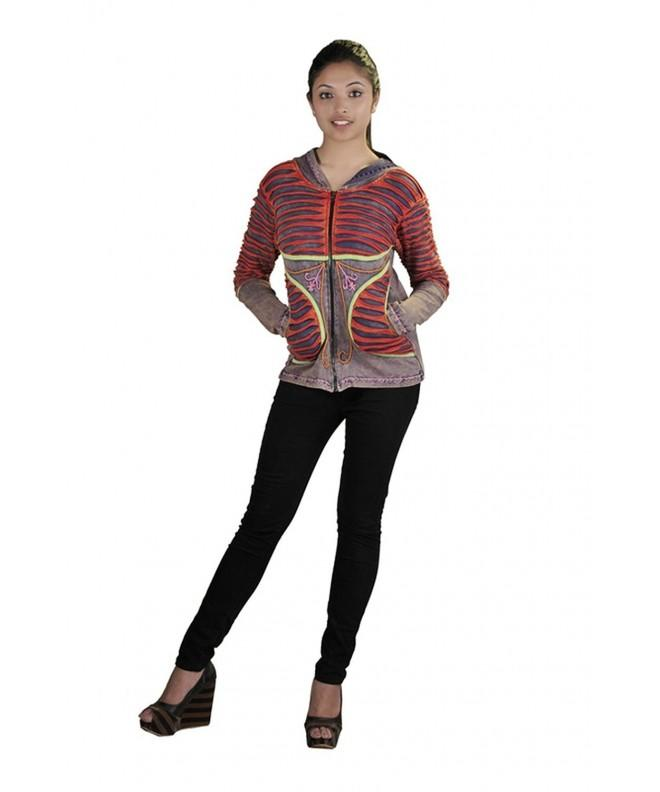 Tattopani multicolored Cardigan Embroidery GREY CINTA004 S