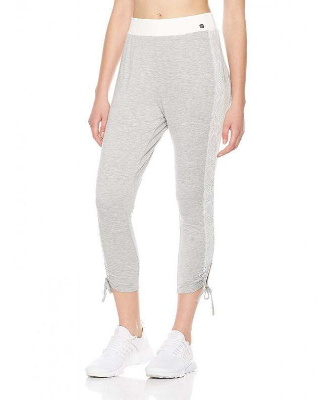 7Goals Womens Detail Sweatpant Heather
