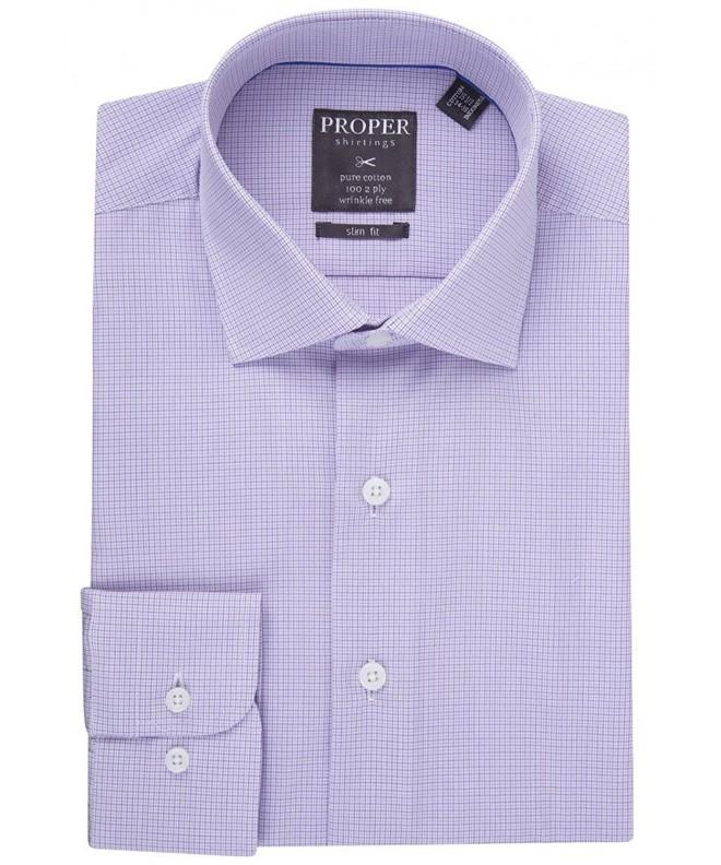 Proper Shirtings P334SPOR Cotton Check