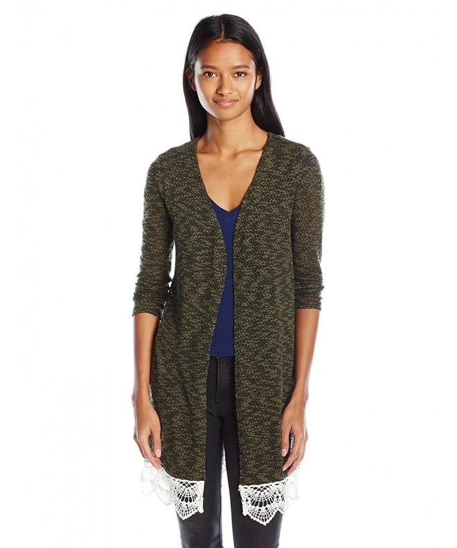 Love Design Juniors Crochet Cardigan