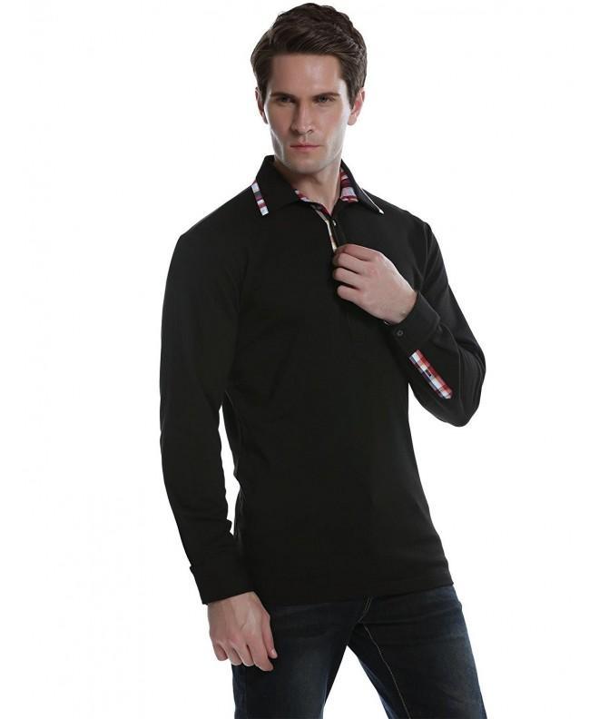 Misakia Sleeve Solid Shirt Black