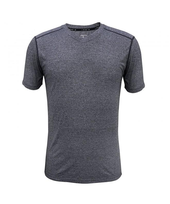 Layer Performance T Shirt Obsidian Heather