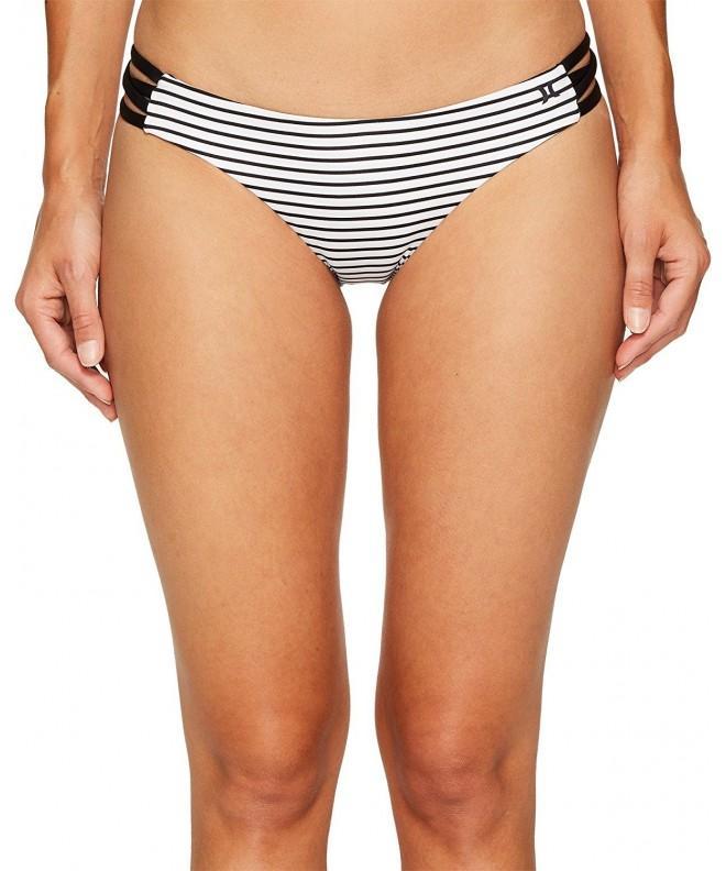 Hurley Womens Stripe Bottoms Swimsuit