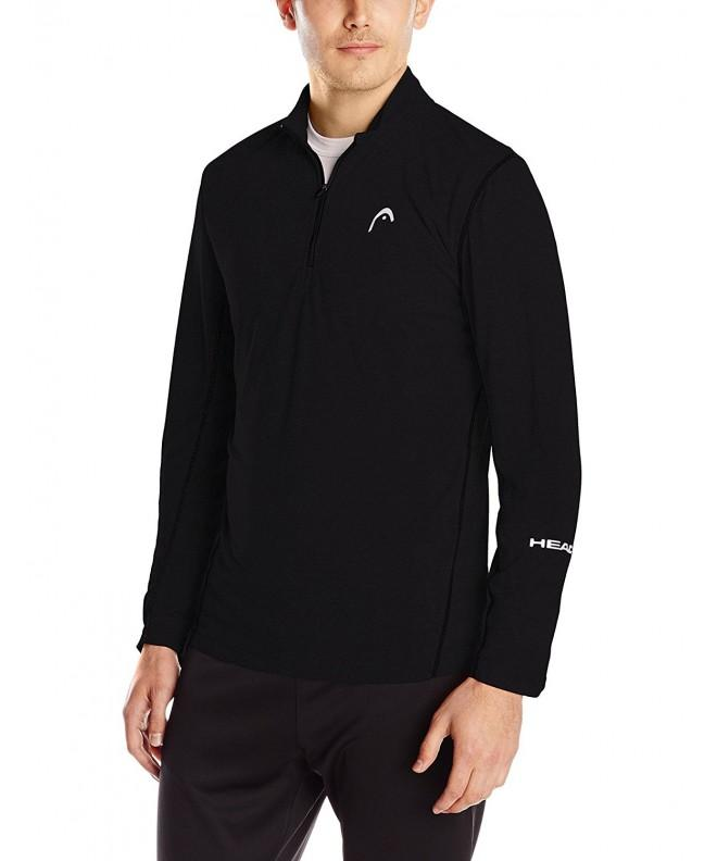 HEAD Mens Mock Black Medium