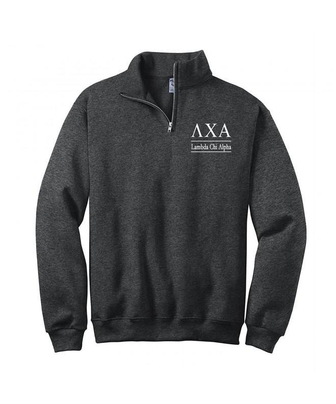 Lambda Alpha Quarter Pullover Sweatshirt