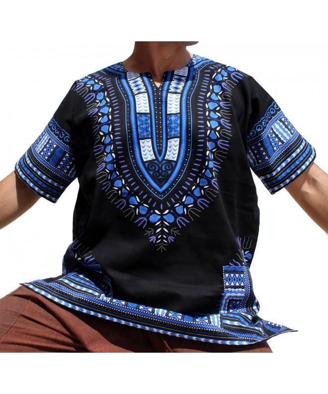 RaanPahMuang Unisex Bright African Dashiki