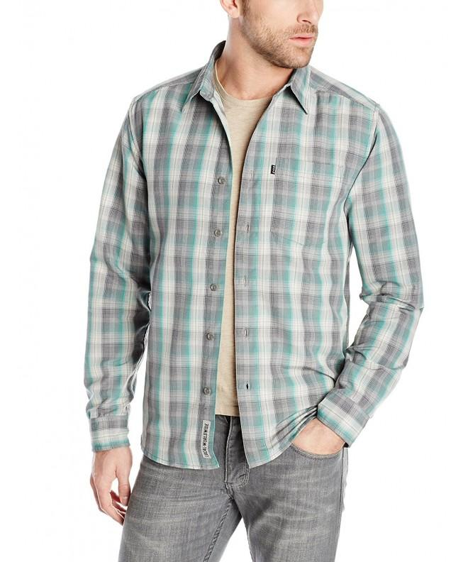 KAVU Woodrow Shirt Kelly X Small