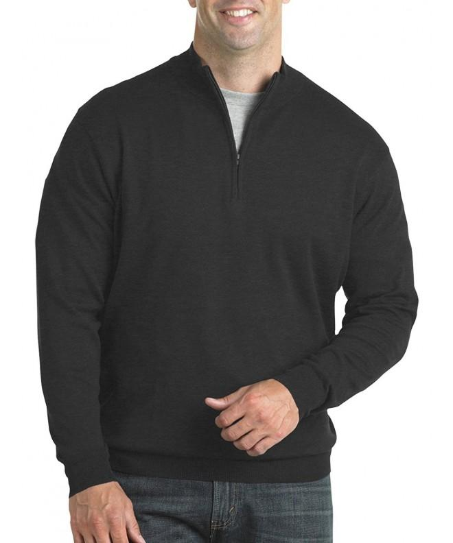 Harbor Bay Tall Quarter Zip Sweater