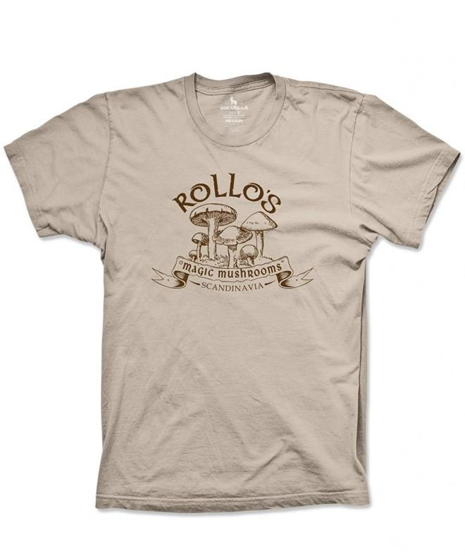 Rollos Mushrooms Tshirt Tees 3X Large