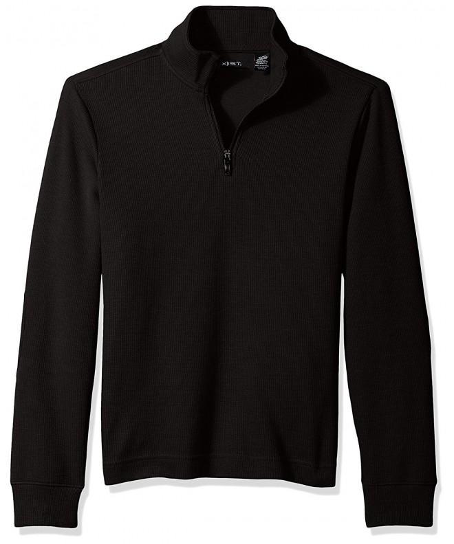 AXIST Quarter Sweater Black Medium