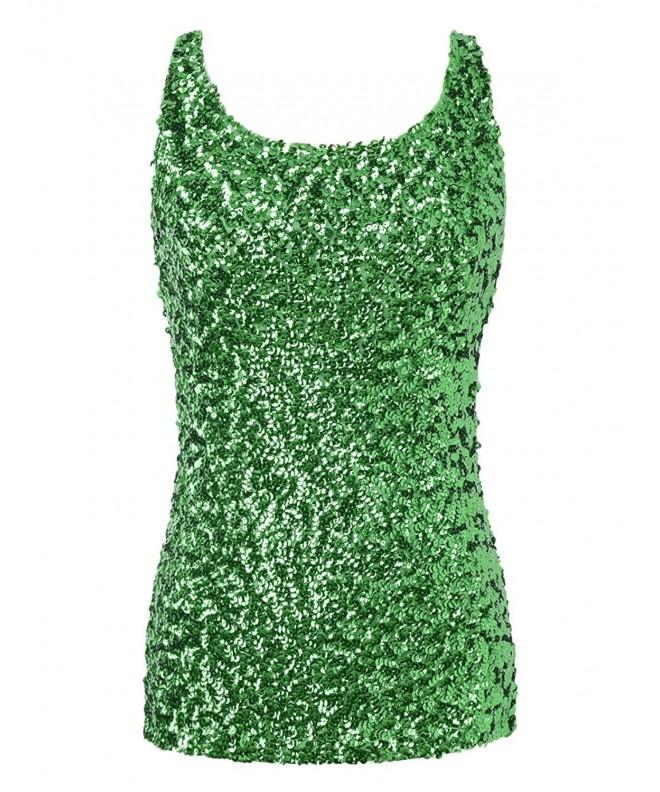 PrettyGuide Shimmer Sequin Embellished Sparkle