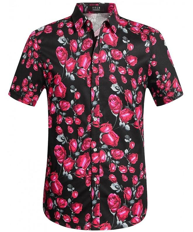 SSLR Button Casual Tropical X Large