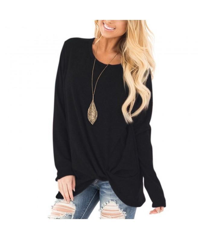 YOUCOO Womens Sleeve Blouses Sweatshirt