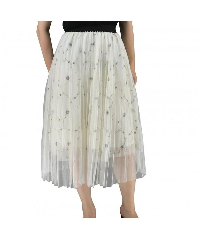 YSJ 3 Layers Pleated Length Princess