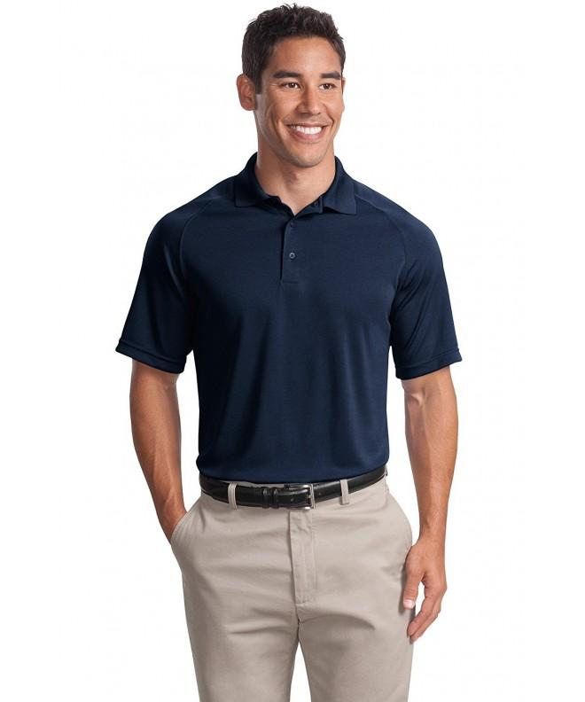 Sport Tek Mens Zone Raglan Polo