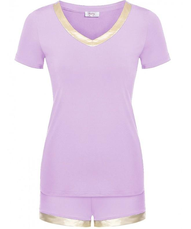 Halife Womens V neck Sleepwear Loungewear