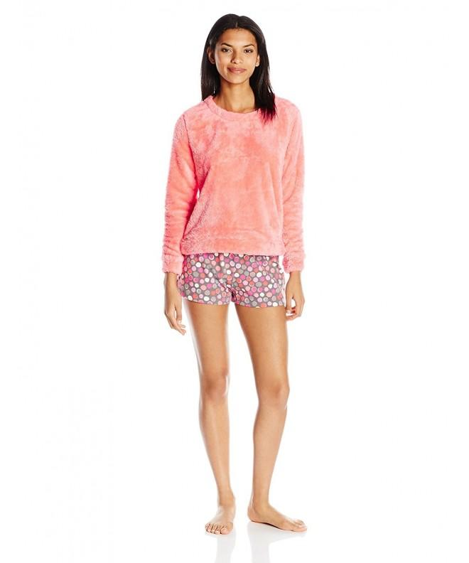 HUE Womens Fleece Pajama Maniac