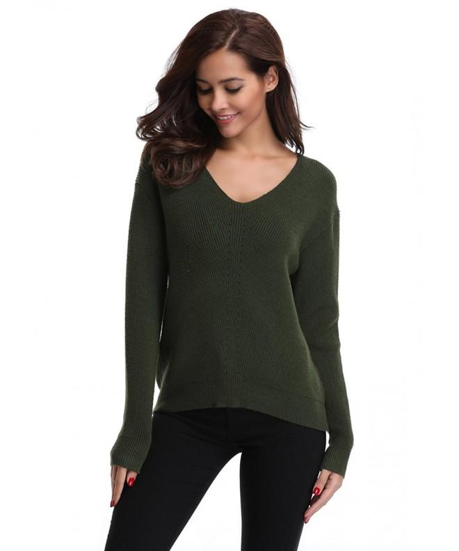 MISS MOLY Womens Pullover Sweater