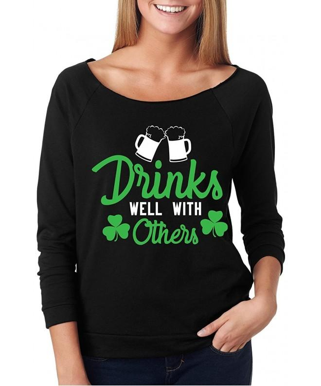 Womens Shoulder Patricks Drinks Others