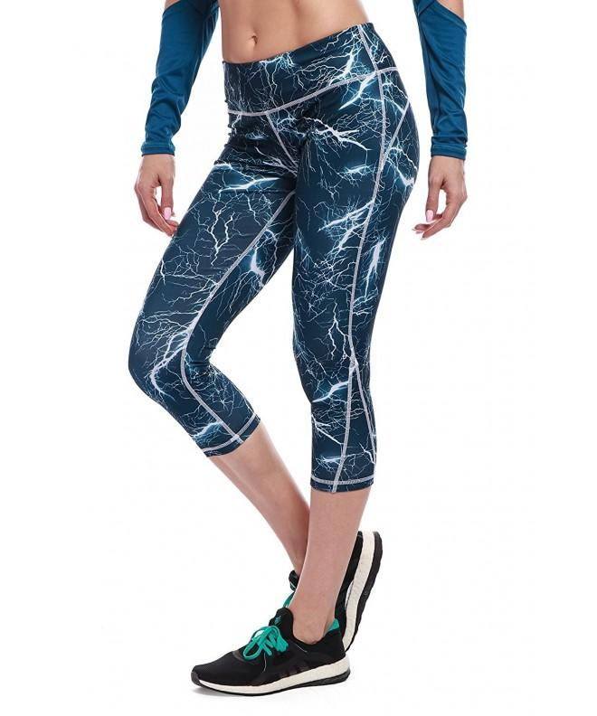 Womens High Rise Leggings Jogging Workout