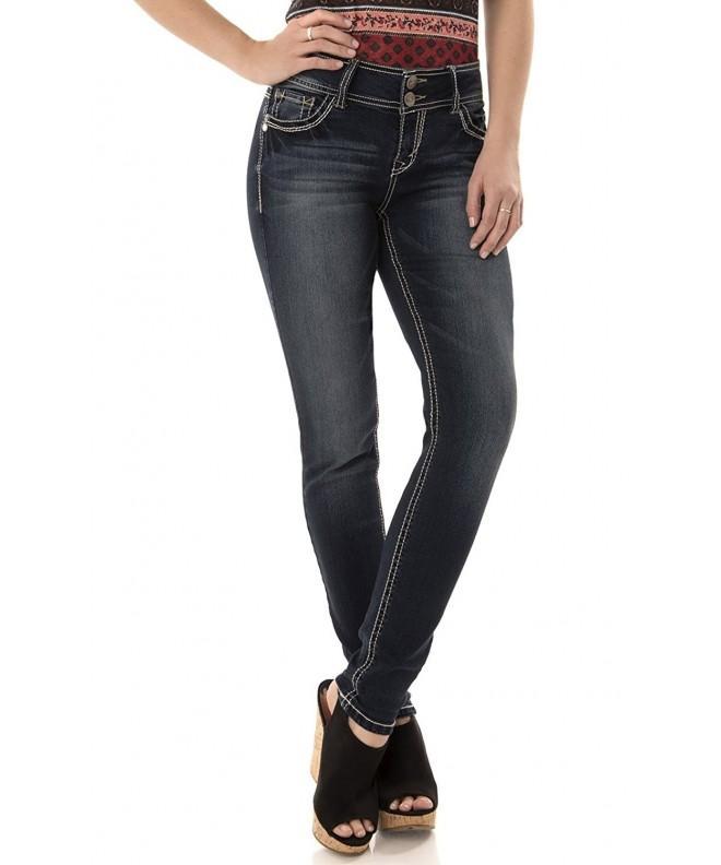 WallFlower Womens Luscious Skinny Jeans