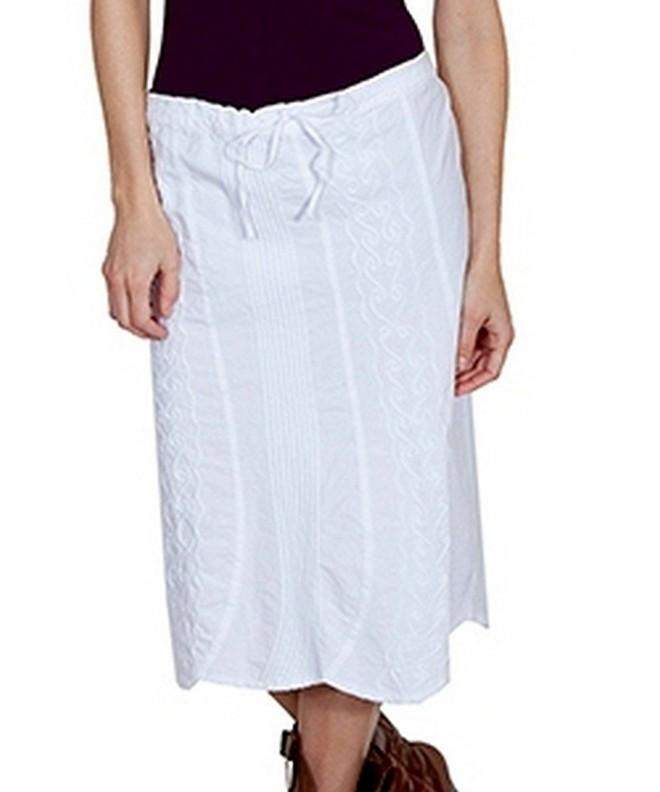 Scully Womens Kaya Skirt White