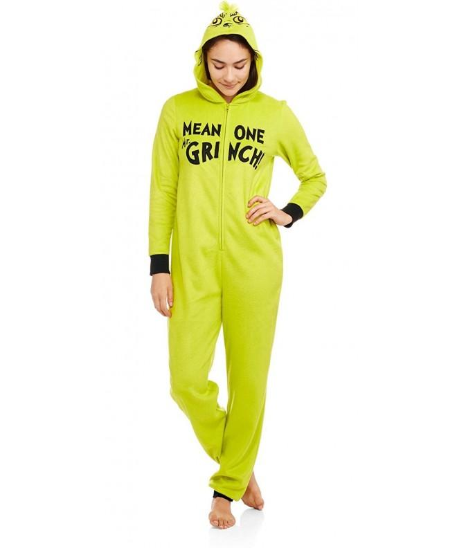 Dr Seuss Grinch Womens Fleece