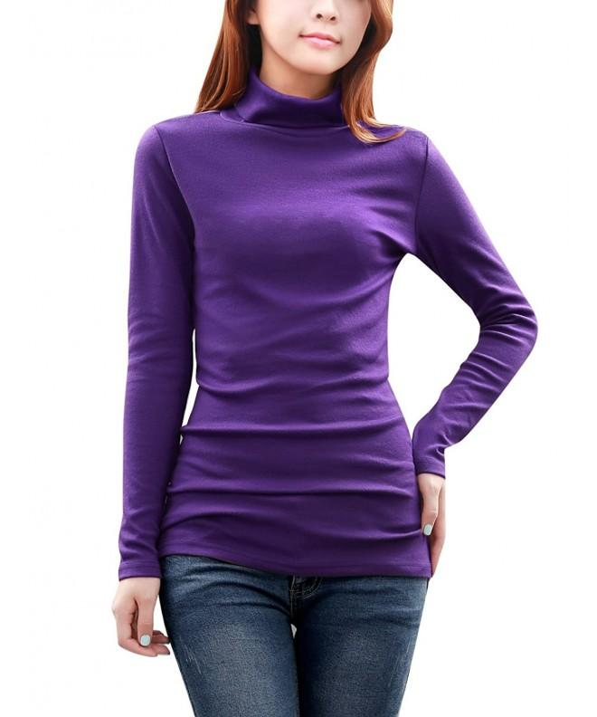 Allegra Turtleneck Sleeve Fitted Stretchy