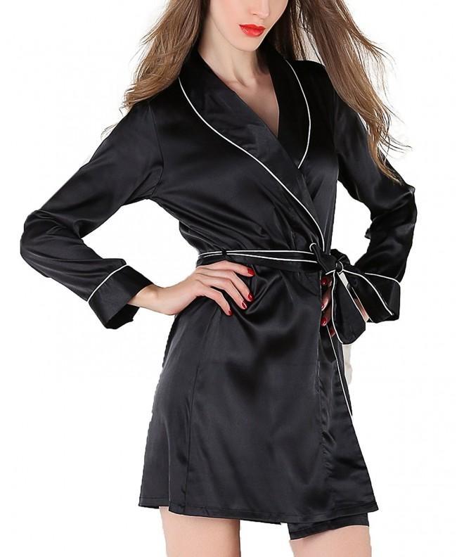 SWOMOG Lightweight Bridesmaids Bathrobe Sleepwear