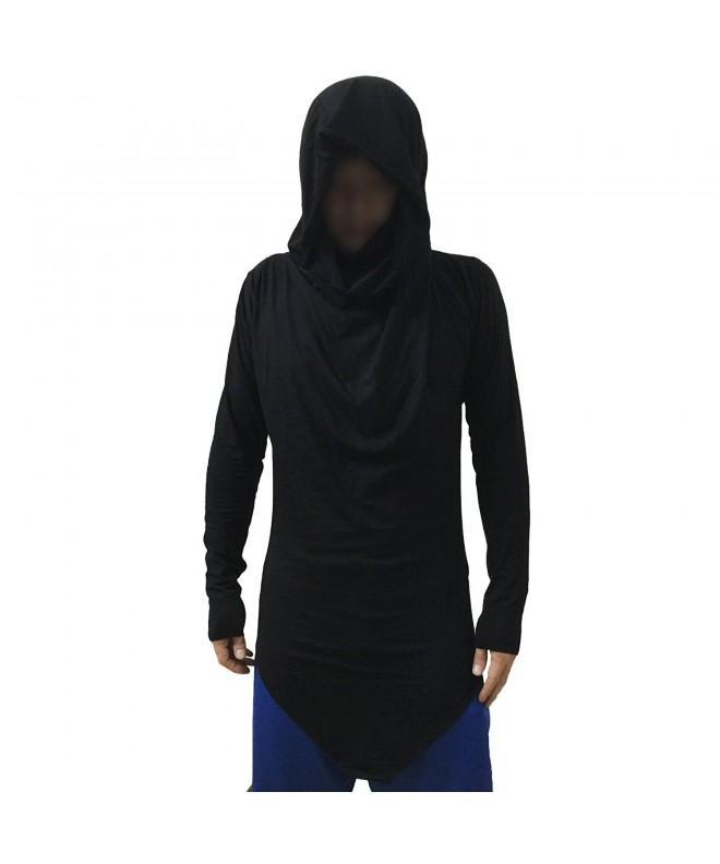 MOKEWEN Cowl Neck Triangle T shirt Medium