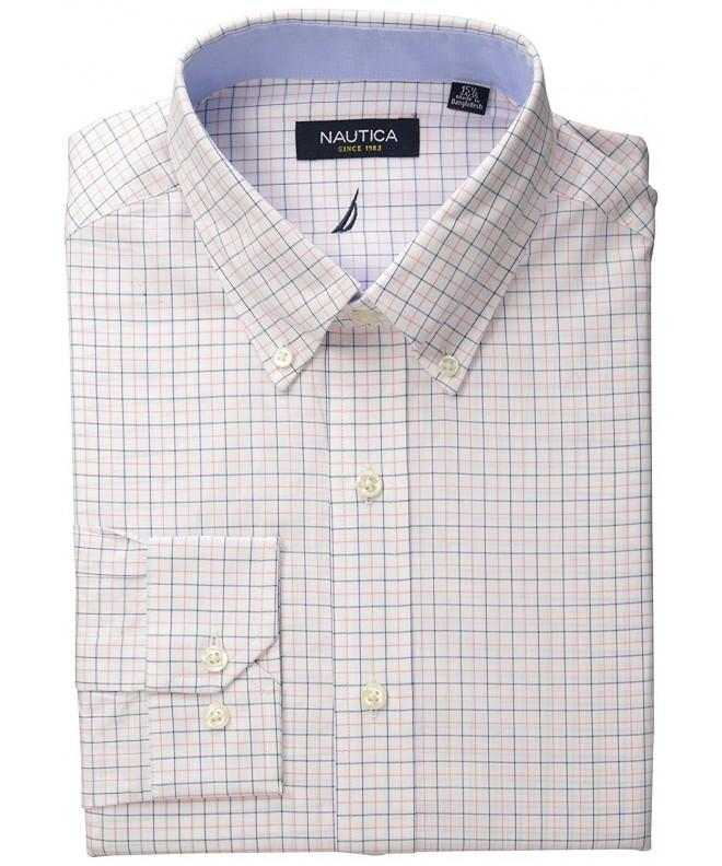 Nautica Tattersal Buttondown Collar Sleeve