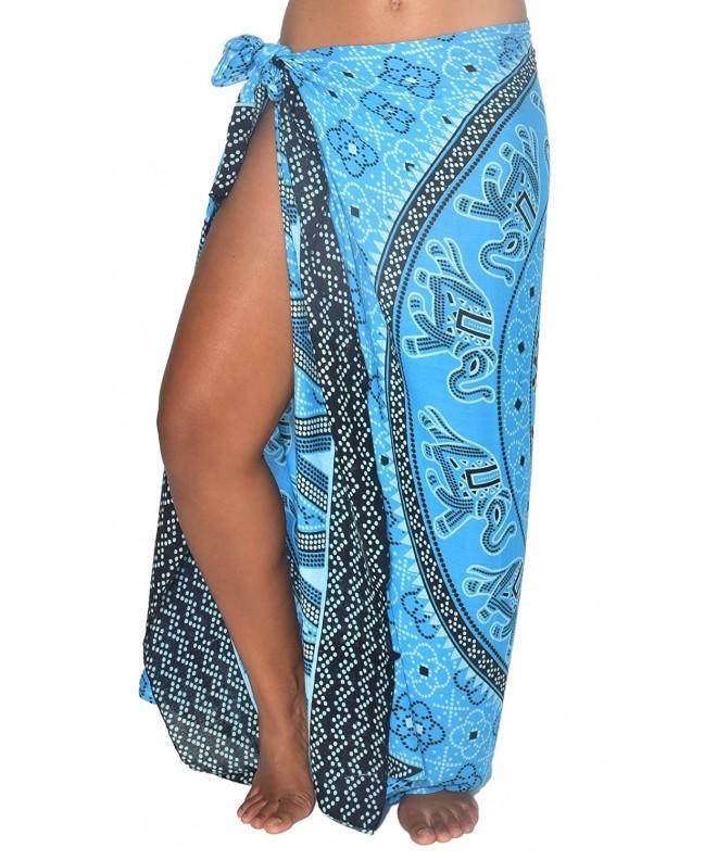 Elephant Mandala BeachWrap Swimsuit Coverup