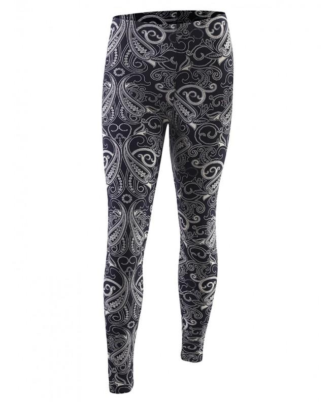 BIADANI Womens Brushed Printed Leggings