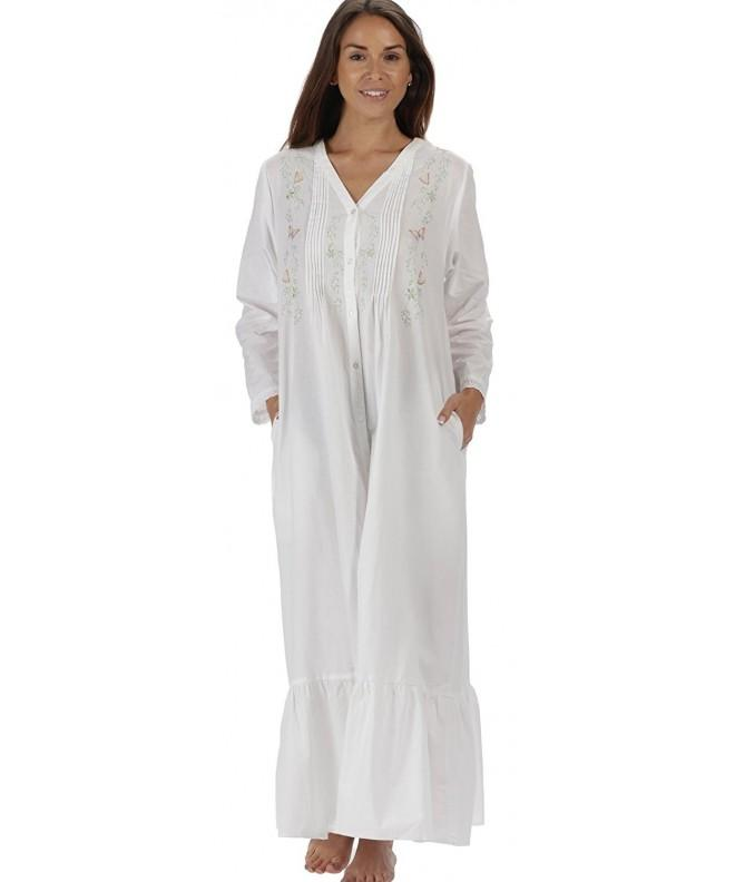 Cotton Ladies Victorian Style Nightgown
