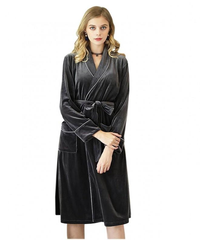 Borje Womens Kimono Quarter Bathrobe