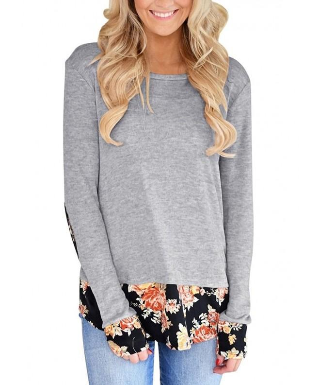 SEKKVY Womens Crewneck Sweatshirt T Shirt