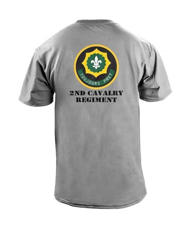 Cavalry Regiment Veteran T Shirt Heather