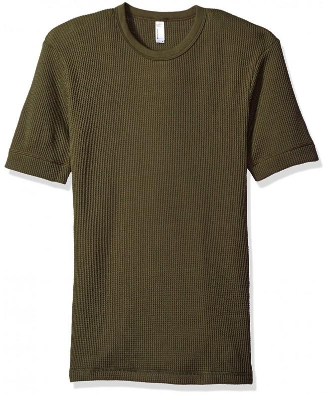 American Apparel Thermal T Shirt Lieutenant