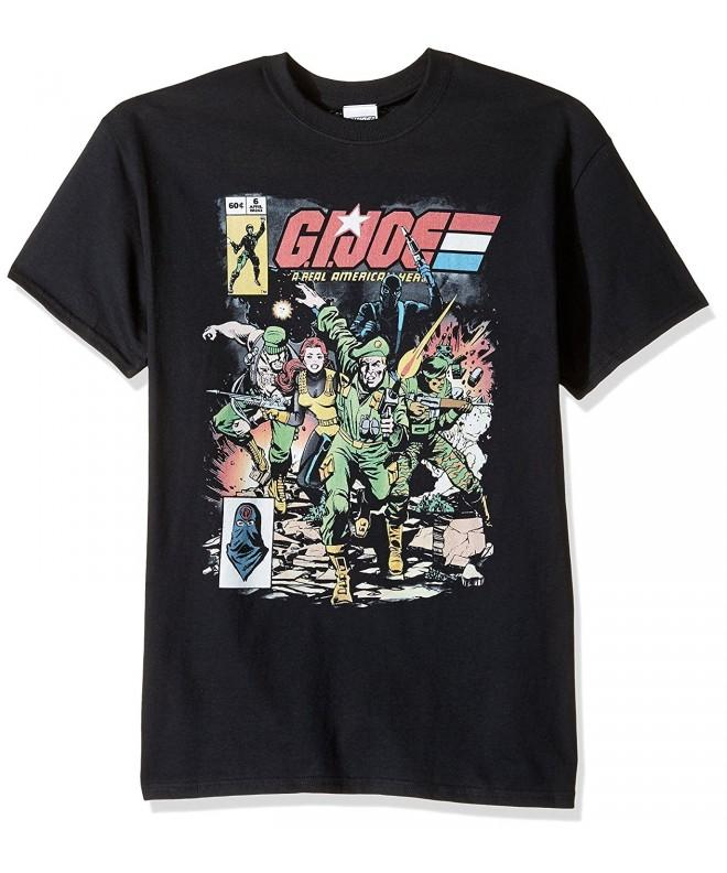G I Joe American T Shirt Black