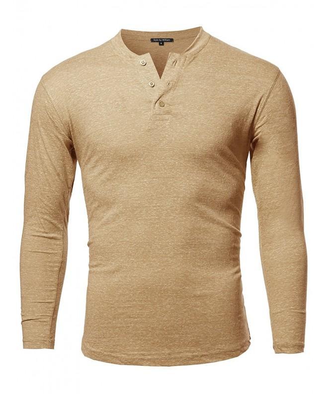 Style William Sleeves T Shirt Mustard
