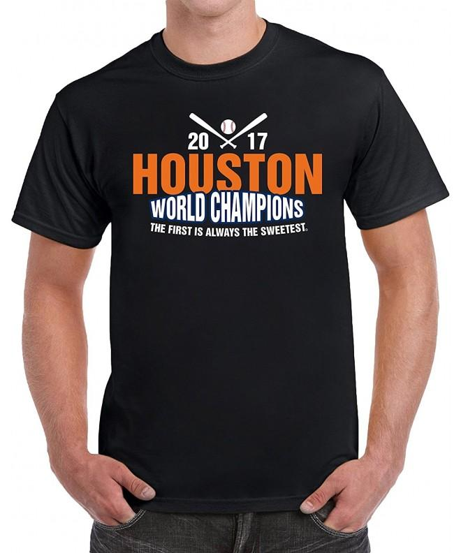 Houston Championship Baseball Novelty T Shirt