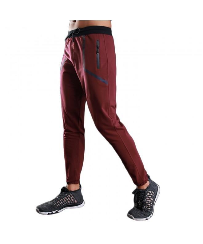 KaiDi Drawstring Classic Joggers Pockets