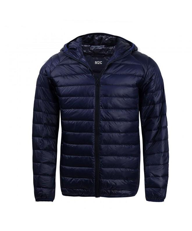 M2C Hooded Lightweight Windproof Puffer