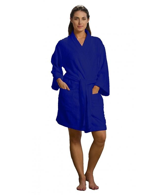 robesale Thigh Length Cotton Bathrobes
