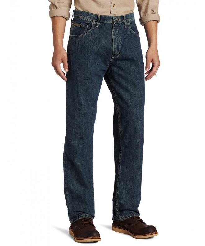 Genuine Wrangler Loose Greyed Indigo