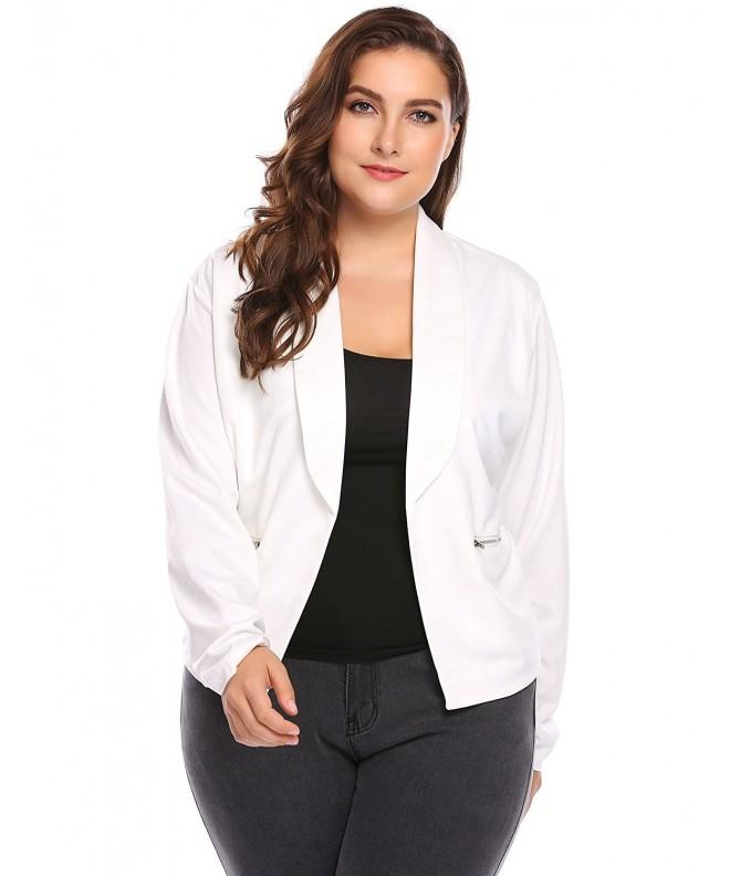 Involand Womens Sleeve Draped Career