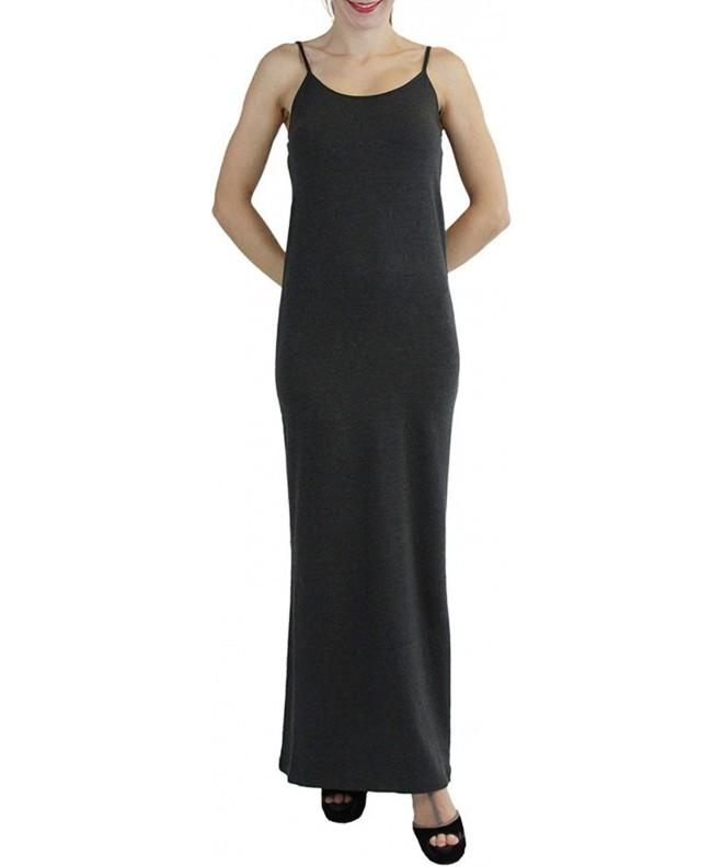 ToBeInStyle Sleeveless Maxi Dress Adjustable Spaghetti