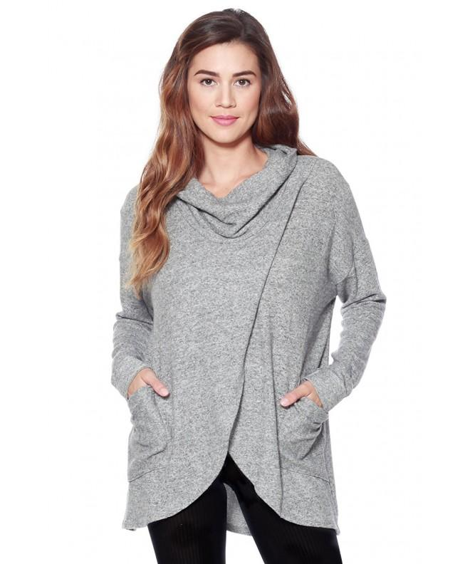Alexander David Brushed Sweater Heather